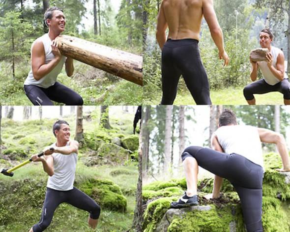 Stenåldersträning i Borås