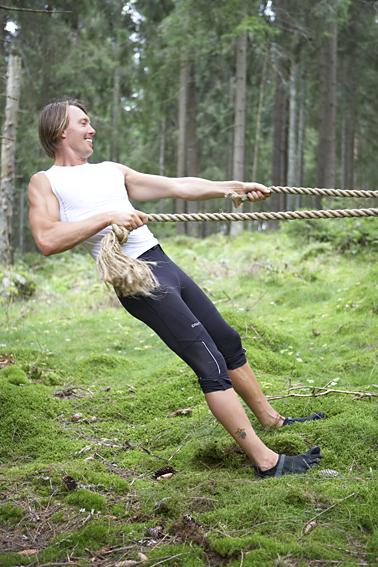 Fredrik drar järnet i skogen!