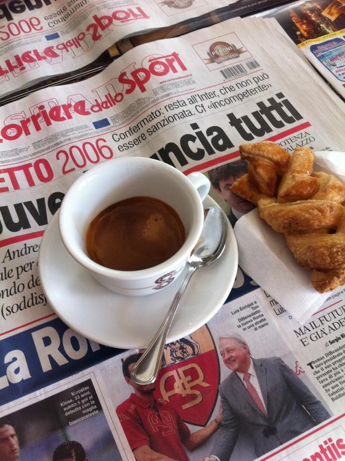 Italiensk cykelfrukost