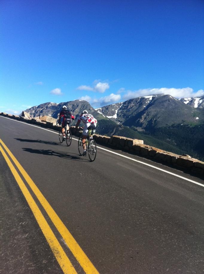Tuff cykling i Colorado