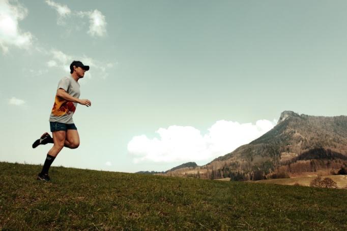 Löpning i Österrike i april