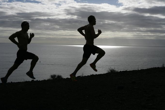 """Härlig löpbild som kommer i boken """"Triathlon för dig"""". Fotad av Tomas Eriksson www.bildbolaget.se"""