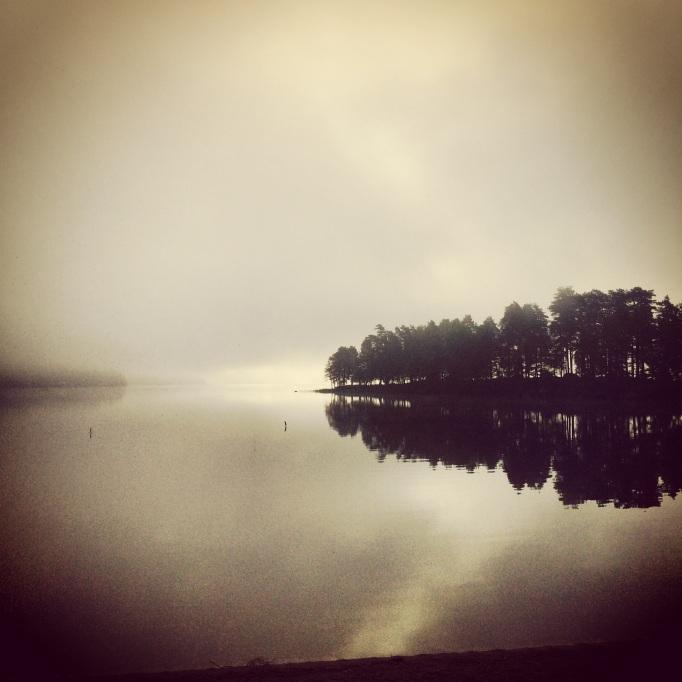 Arla morgon på Almenäs med löfte om en vacker och bedårande dag!