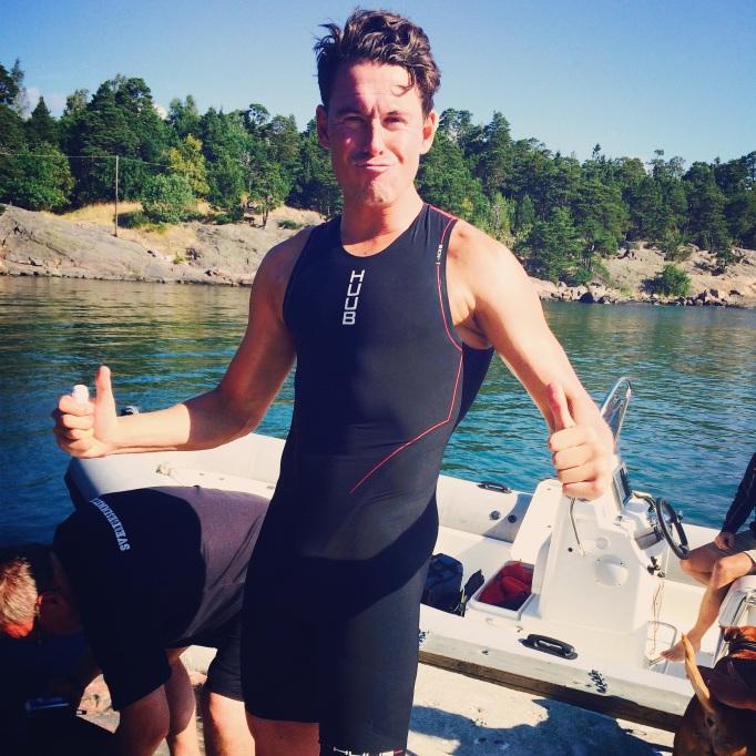 Simning hela dagen! Varje dag! Vilken lyx!
